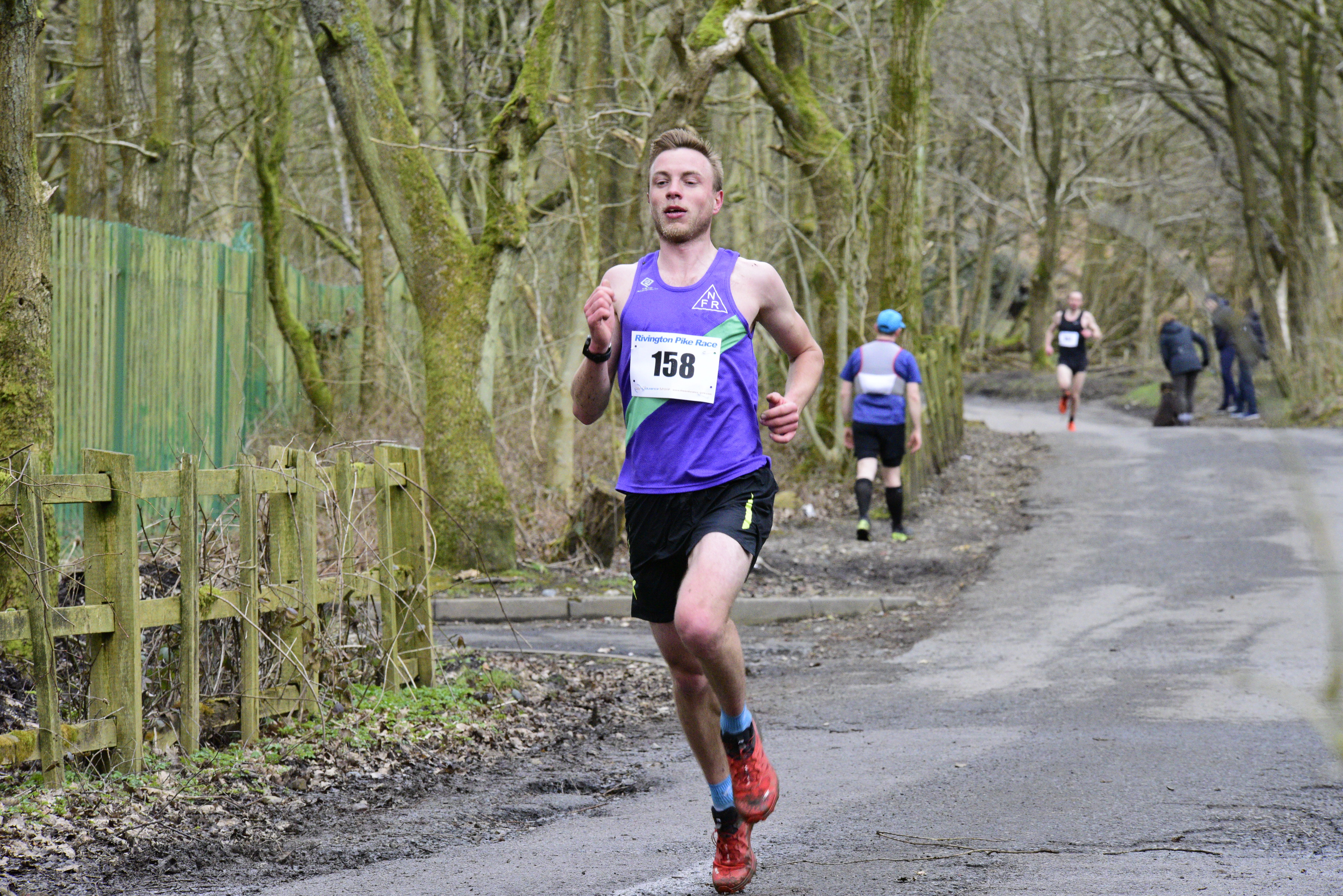 Nick Swinburn wins at Rivington Pike - photo: Mike Powell